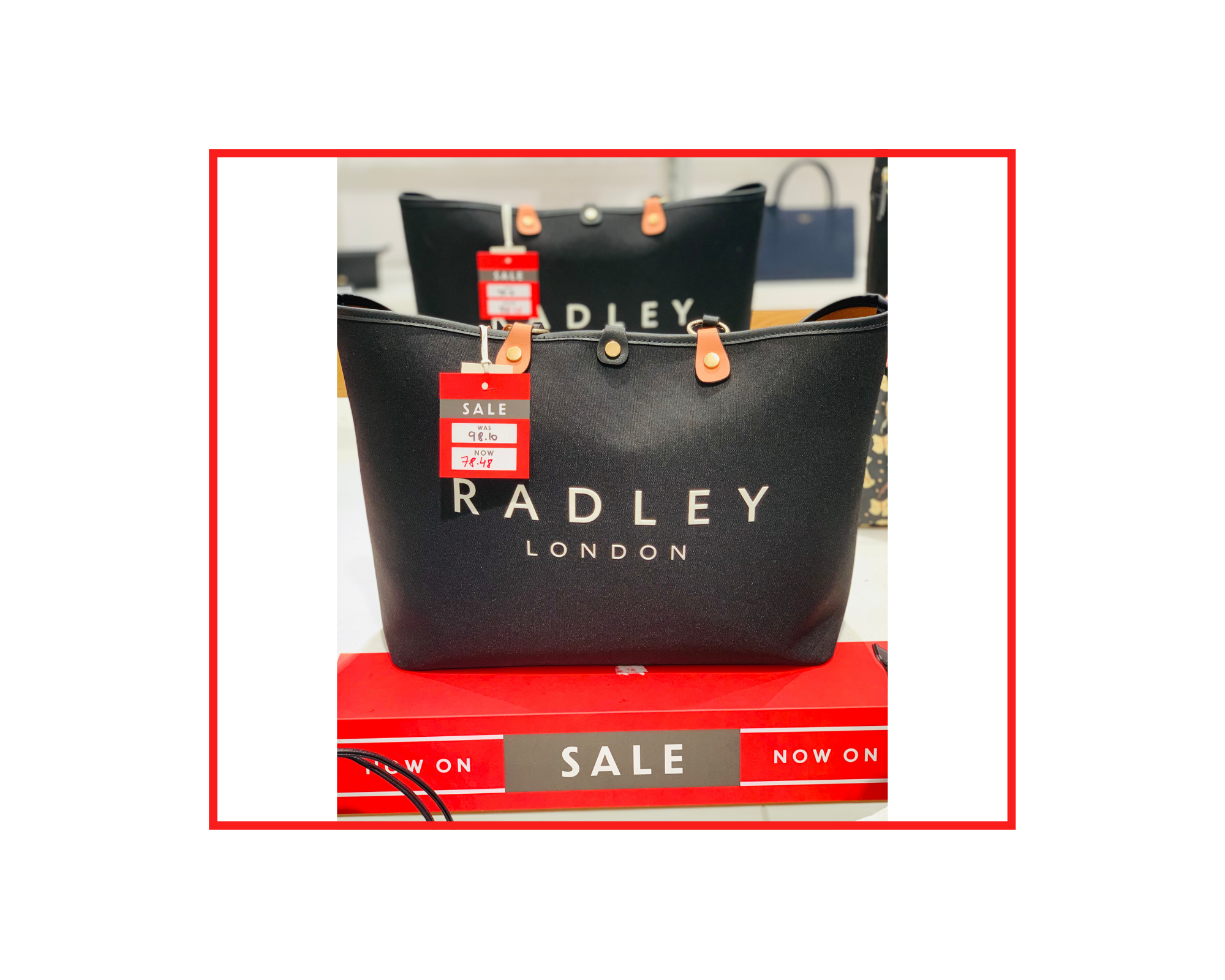 Radley  Addison Gardens Handbag  UK £109 | JSY £98.10 | NOW £78.48