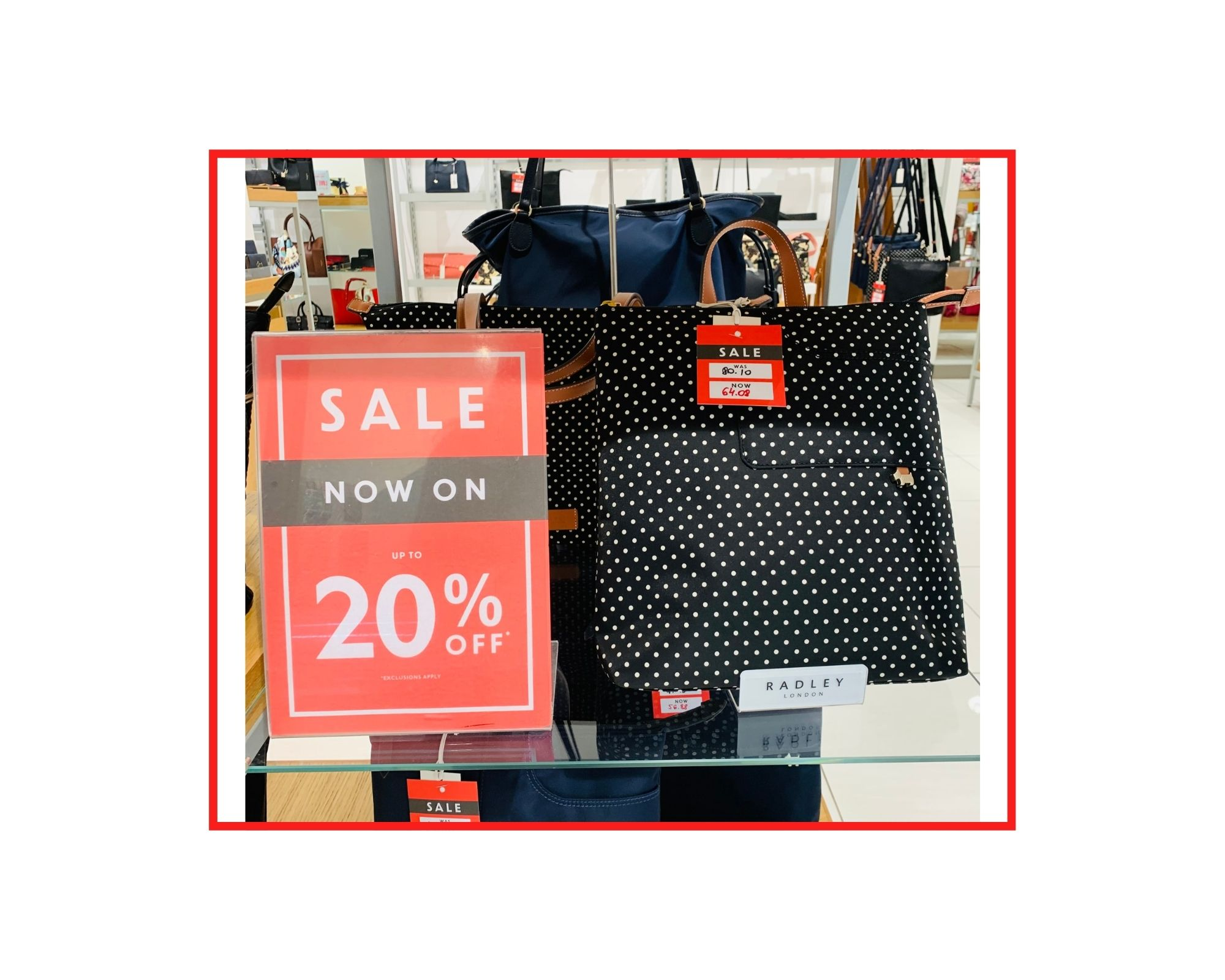 Radley  Pocket Essentials Bag  UK £89 | JSY Was £80.10 | NOW £64.08